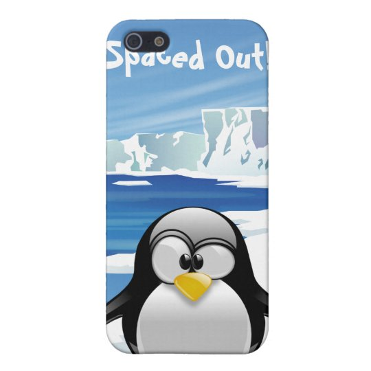 Spaced Out Penguin iPhone 5 Cover
