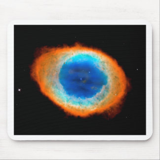 SpaceGalaxies Gifts - Ring Nebula with White Dwarf Mouse Pad