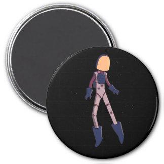 Spaceman Beta 7.5 Cm Round Magnet