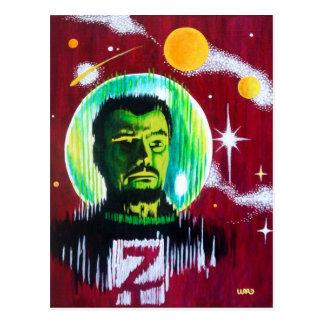 SPACEMAN 'Z' POSTCARD