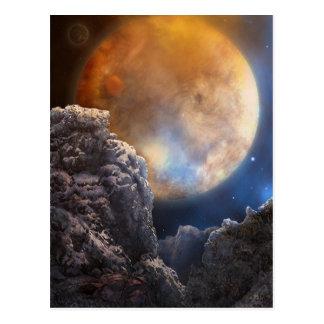 Spacerock IV Lonely Planet - Postcard