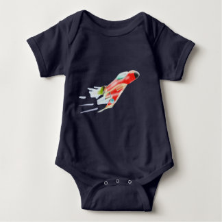 Spaceship Baby Bodysuit