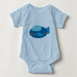 Spaceship Baby Clothes T-shirt