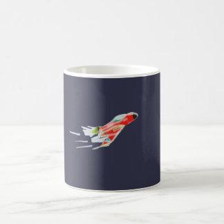 Spaceship Basic White Mug