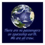 Spaceship Earth, Environment Poster