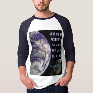 spaceship earth mens shirt