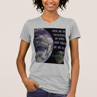 spaceship earth womens shirt