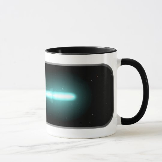 Spaceship in a Bottle Mug