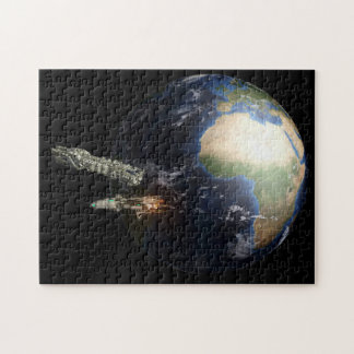 Spaceships Remove From Our Earth Puzzle