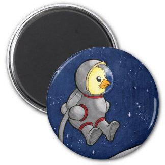Spacewalk Chickie magnet