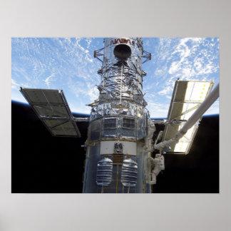 Spacewalk Hubble Telescope STS-109 Poster