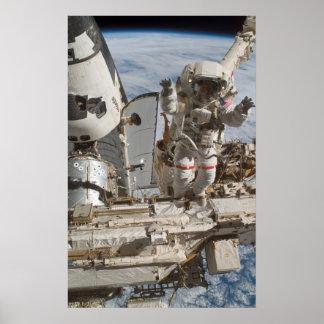 Spacewalk STS-117 Posters