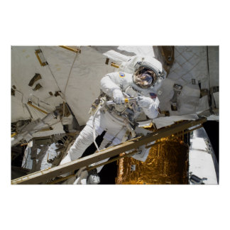 Spacewalk STS-133 Print