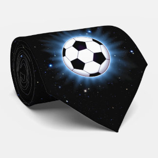 Spacey Soccer Ball Tie