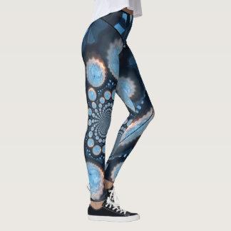 Spacey Sunrise Fractal Leggings