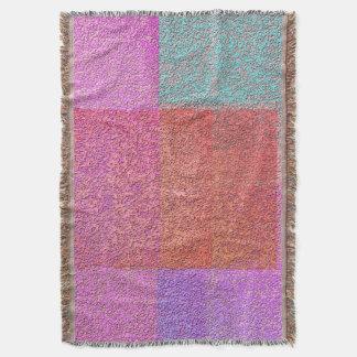 Spackle-Snuggle-Painter's-Sunset-Blanket Throw Blanket