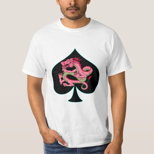 Spade and Pink Dragon T-Shirt
