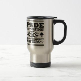Spade Investigations Mugs