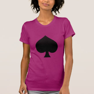 Spade - Suit of Cards Icon T-shirts