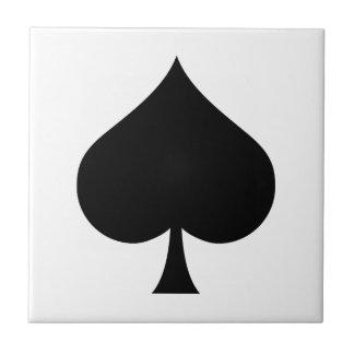 Spade Symbol Tiles