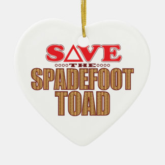 Spadefoot Toad Save Christmas Ornament