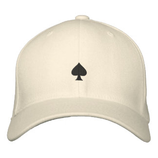 Spades Embroidered Hat
