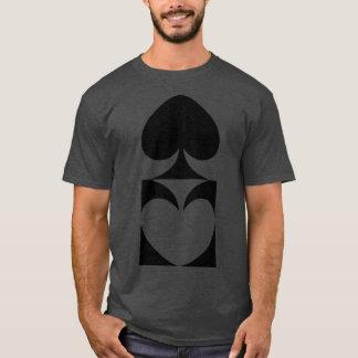 Spades Mirror Reflection T-Shirt