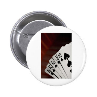 Spades Royal Flush Pins