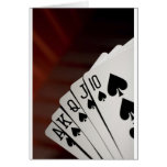 Spades Royal Flush Cards