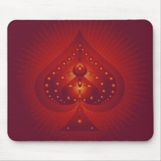 Spades Symbol: Vector Artwork: Mouse Mat