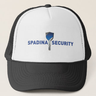 Spadina Security Logo Trucker Hat