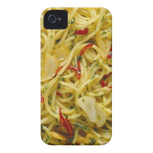 Spaghetti Aglio; Olio and Peperoncino Case-Mate iPhone 4 Case