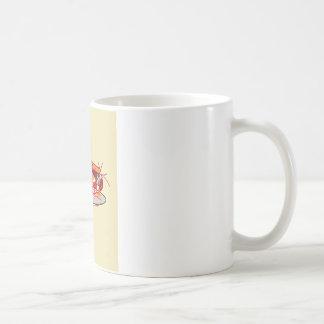 Spaghetti and Meatballs Basic White Mug