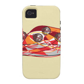 Spaghetti and Meatballs Vibe iPhone 4 Cases
