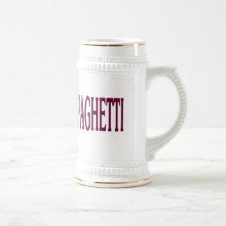 Spaghetti Beer Steins