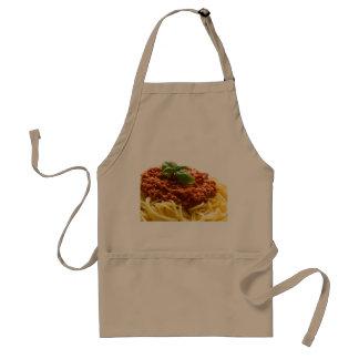 """Spaghetti Bolognese"" design cooking apron"