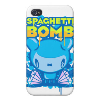 Spaghetti Bomb Cover For iPhone 4