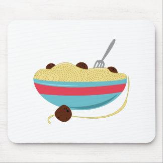 Spaghetti Bowl Mouse Pad