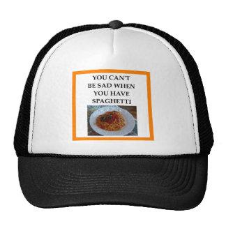 SPAGHETTI CAP