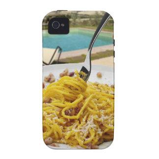 Spaghetti Carbonara Vibe iPhone 4 Case