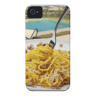 Spaghetti Carbonara iPhone 4 Cases