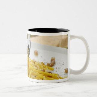 Spaghetti Carbonara Two-Tone Coffee Mug