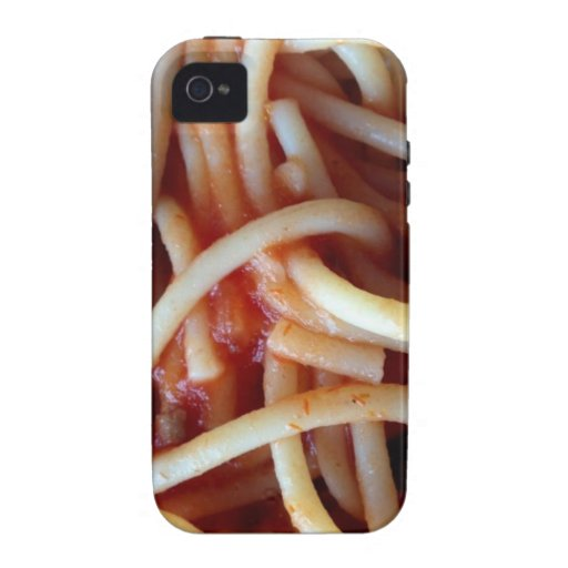 spaghetti iPhone 4/4S cases