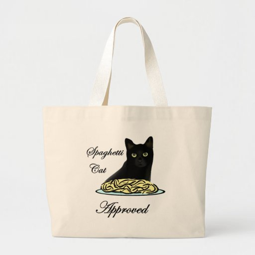Spaghetti Cat Approved Bags