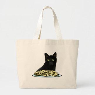 Spaghetti Cat Tote Bag