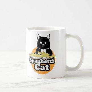 Spaghetti Cat Basic White Mug