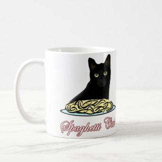 Spaghetti Cat Eloquence Basic White Mug