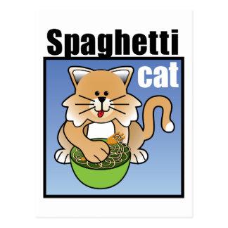 Spaghetti Cat Frenzy Postcards