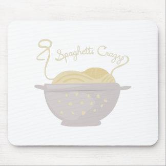 Spaghetti Crazy Mouse Pad