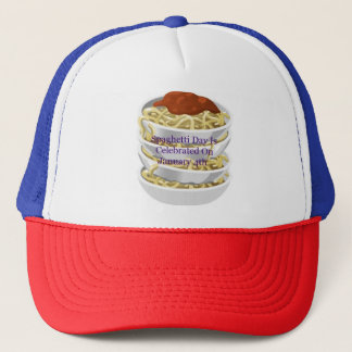 Spaghetti Day Is Celebrated On January 4th Hat